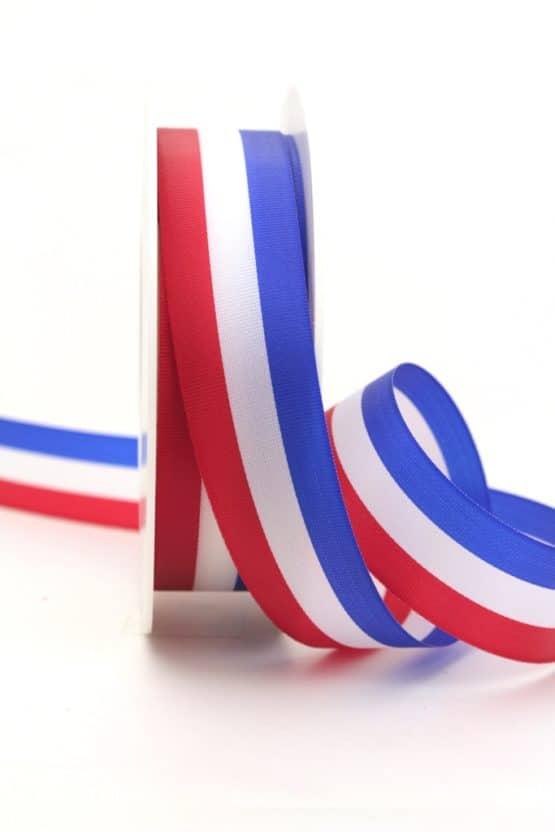 Nationalband Frankreich / Niederlande / Holland, dunkelblau-weiß-rot, 25 mm - nationalband