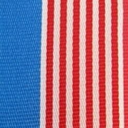 Nationalband USA, blau-rot-weiß gestreift, 225 mm - nationalband