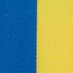 Nationalband Schweden, blau-gelb, 75 mm - vereinsband, nationalband