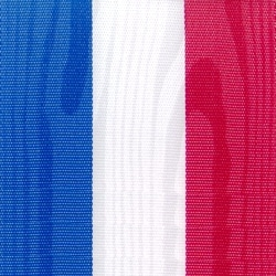Nationalband Frankreich / Niederlande / Holland, dunkelblau-weiß-rot, 200 mm, Super-Satin - super-satin-band, nationalband-super-satin-band