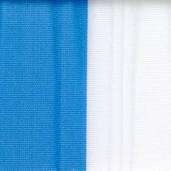 Nationalband Bayern / Finnland, blau-weiß, 75 mm, Super-Satin - vereinsband-super-satin-band, super-satin-band, nationalband-super-satin-band