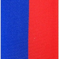 Vereinsband blau-rot, 100 mm, Super-Satin - vereinsband-super-satin-band, super-satin-band, nationalband