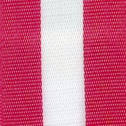 Nationalband Österreich, rot-weiß-rot, 125 mm, Super-Satin - super-satin-band, nationalband-super-satin-band