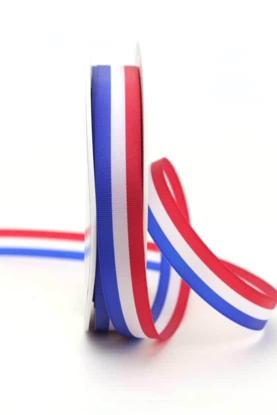 Nationalband Frankreich / Niederlande / Holland, dunkelblau-weiß-rot, 15 mm - nationalband