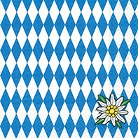 Serviette Bavaria - servietten