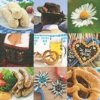 Serviette Oktoberfest - servietten