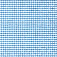 Serviette Vichy blau - servietten
