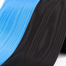 Vereinsband schwarz-blau, 150 mm - vereinsband