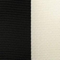 Vereinsband schwarz-weiß, 15 mm - vereinsband