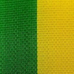 Vereinsband grün-gelb, 15 mm - vereinsband